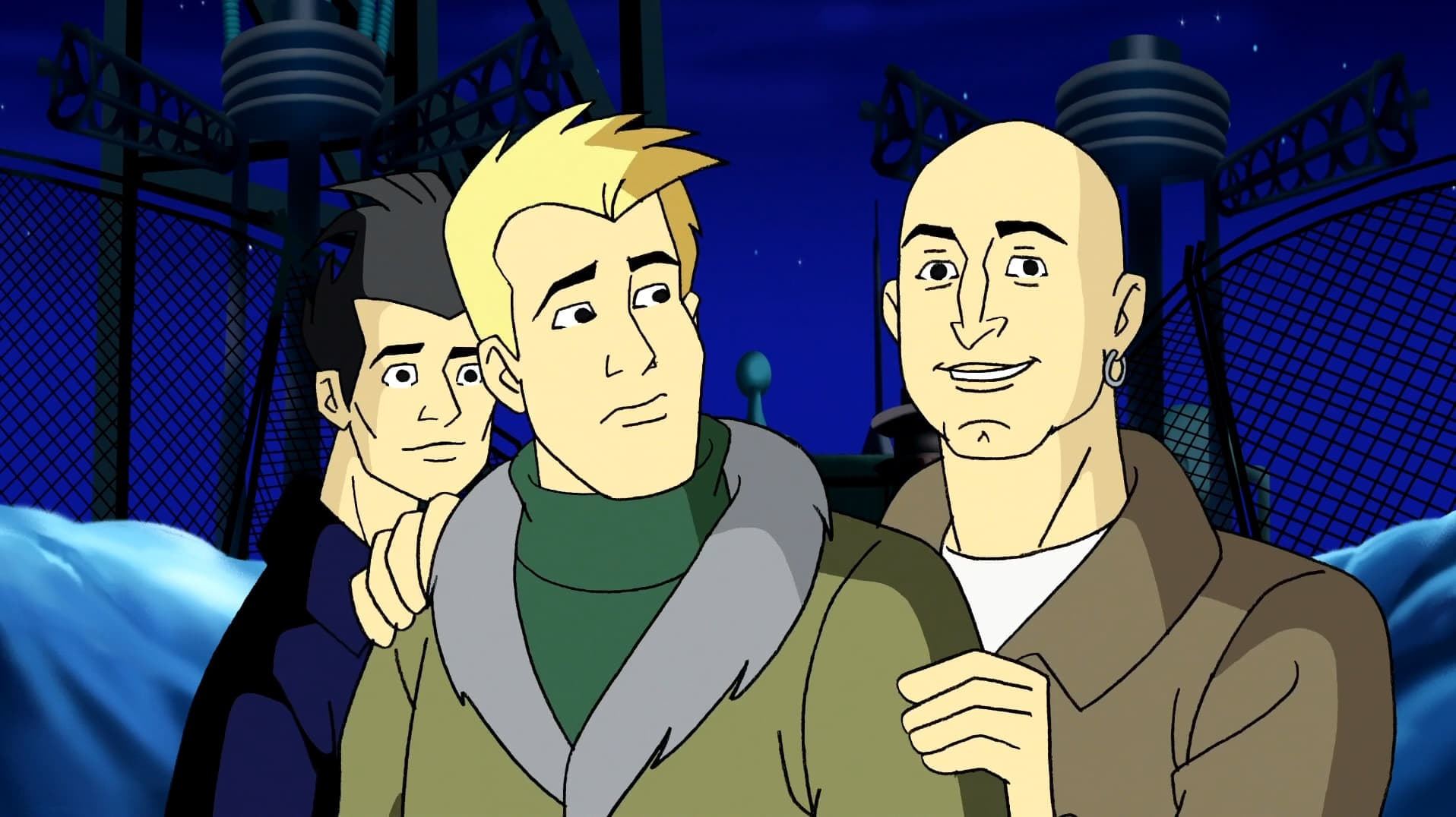 What's New, Scooby-Doo? Season 2 :Episode 9  Simple Plan and the Invisible Madman
