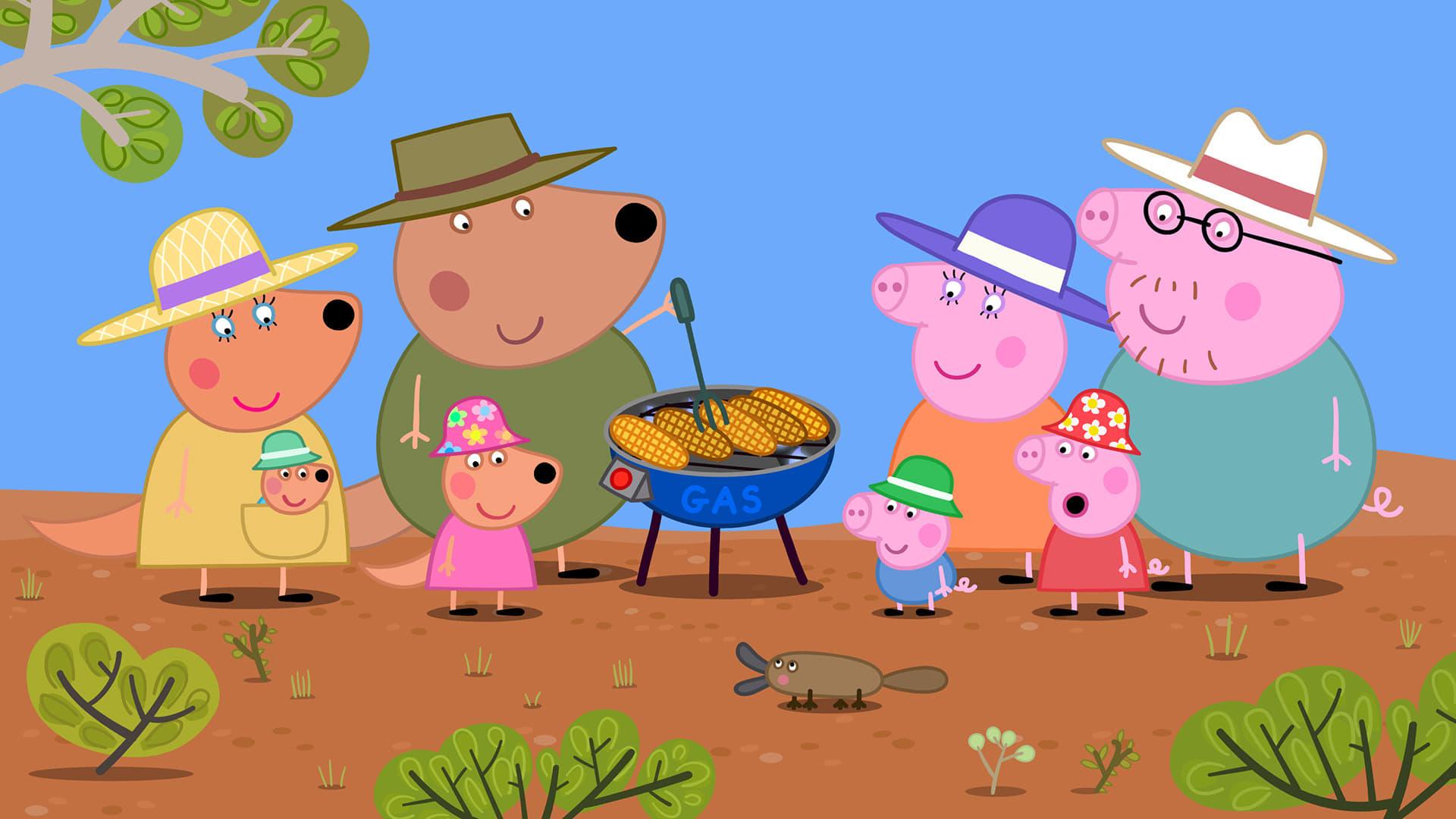 Peppa Pig Season 5 :Episode 19  Australia Part 1 - The Outback