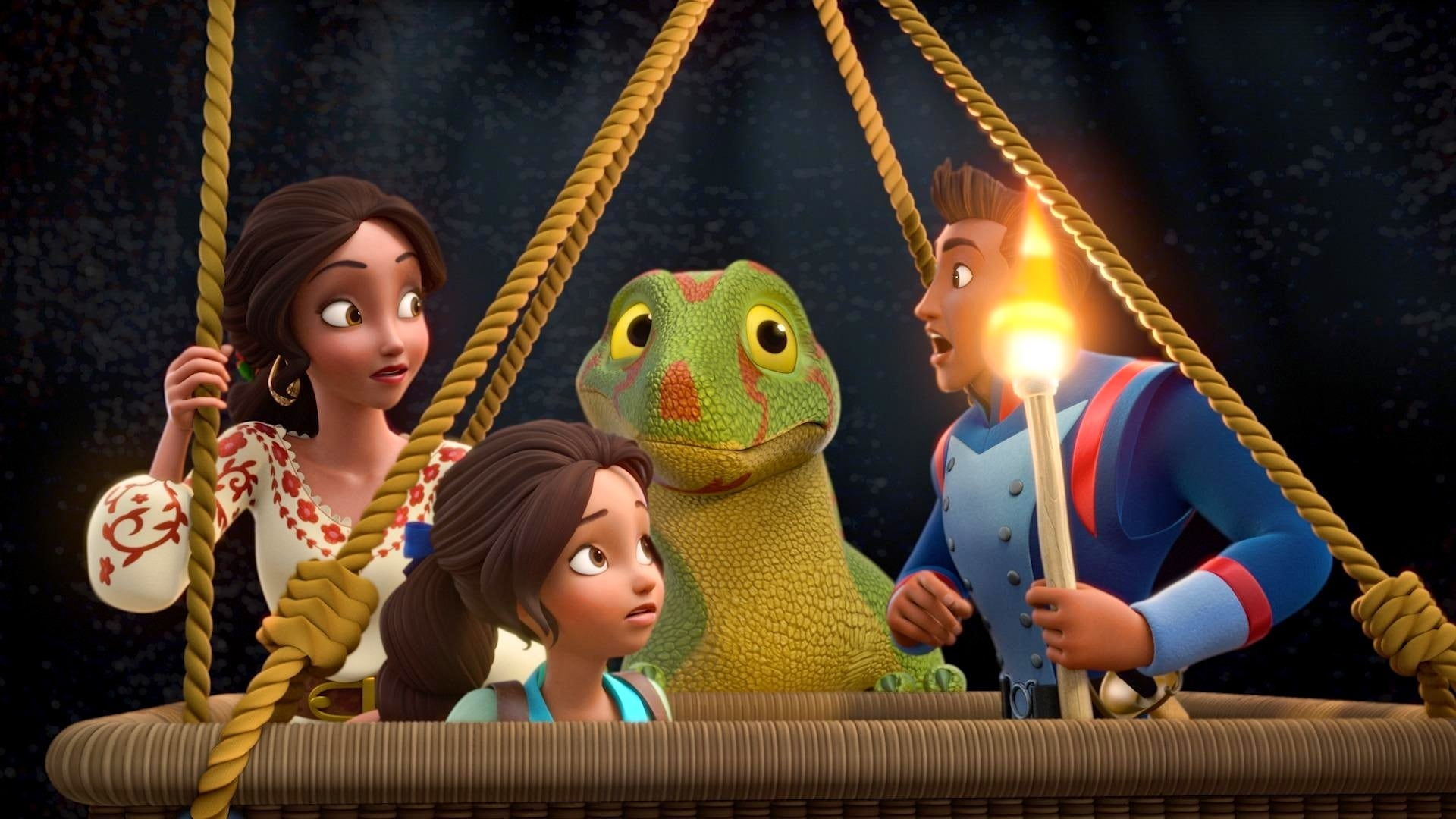 Elena of Avalor Season 1 :Episode 23  The Gecko's Tale