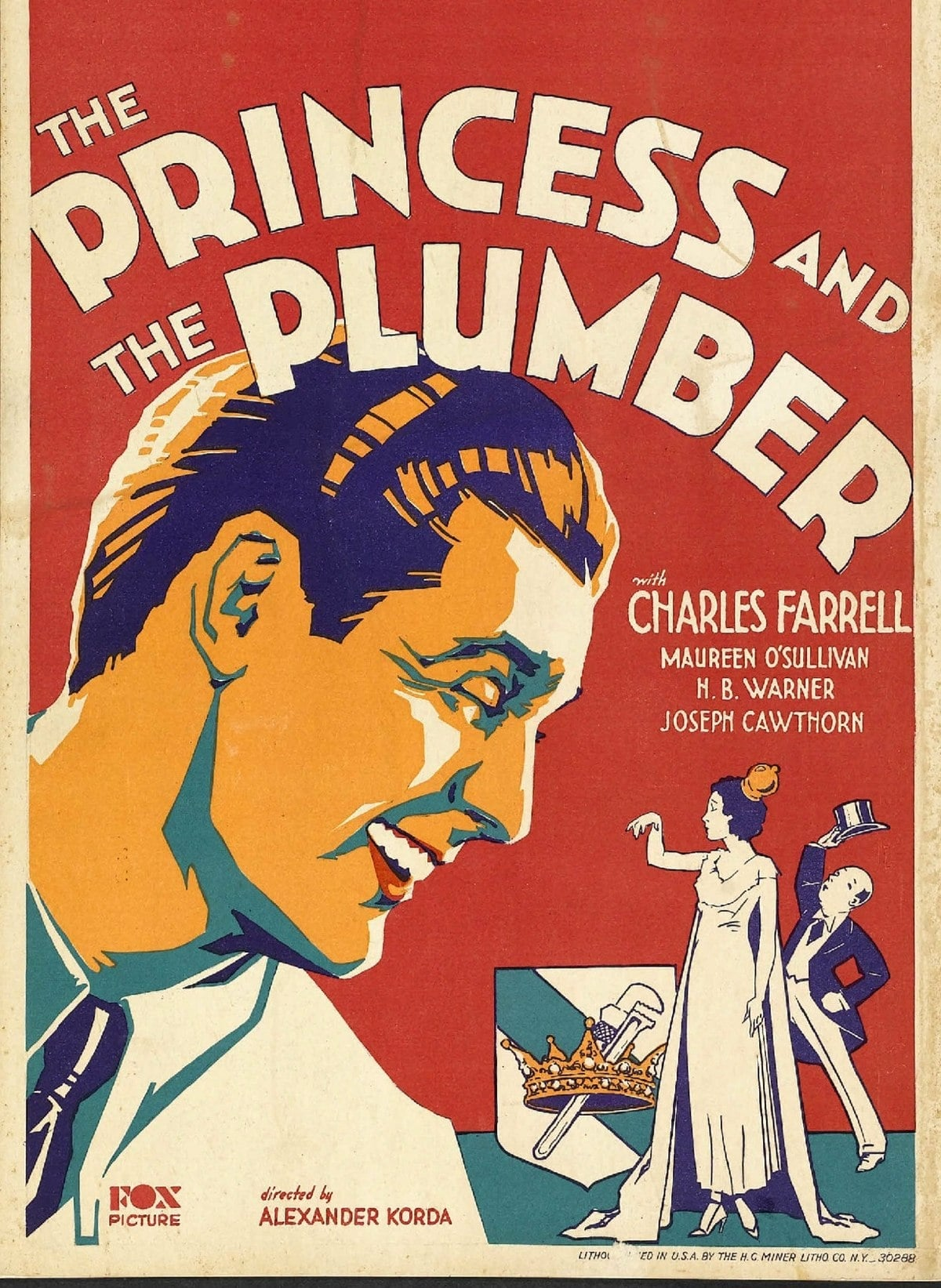 The Princess and the Plumber (1930)