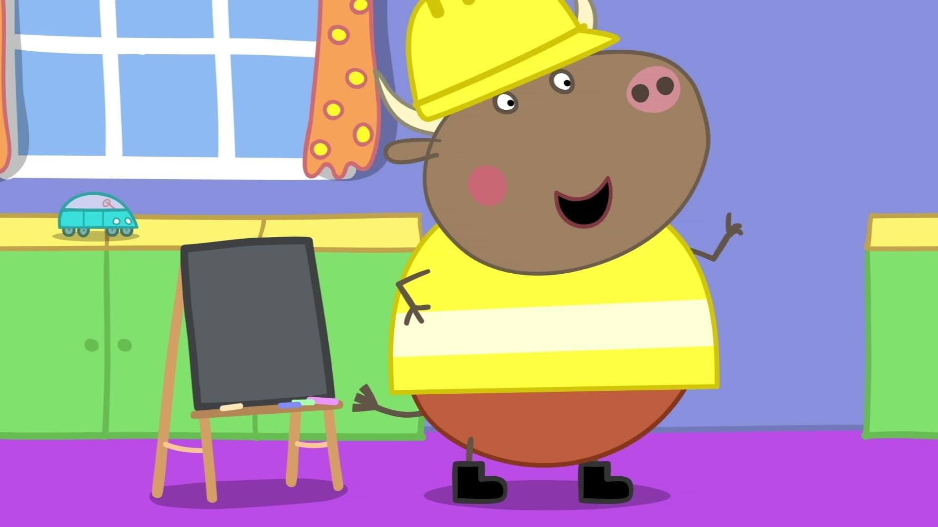 Peppa Pig Season 6 :Episode 43  Mr. Bull the Teacher
