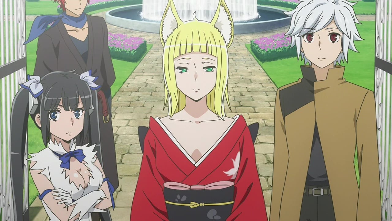 Is It Wrong to Try to Pick Up Girls in a Dungeon? Season 2 :Episode 11  Rakia: Army's Advance