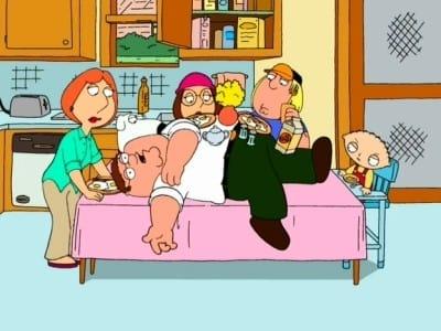 Family Guy Season 1 :Episode 1  Death Has a Shadow