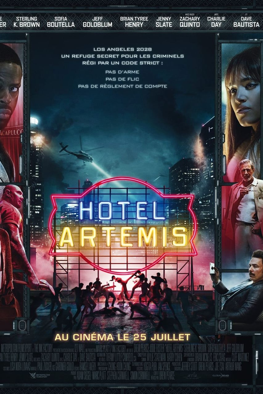 Hotel Artemis streaming