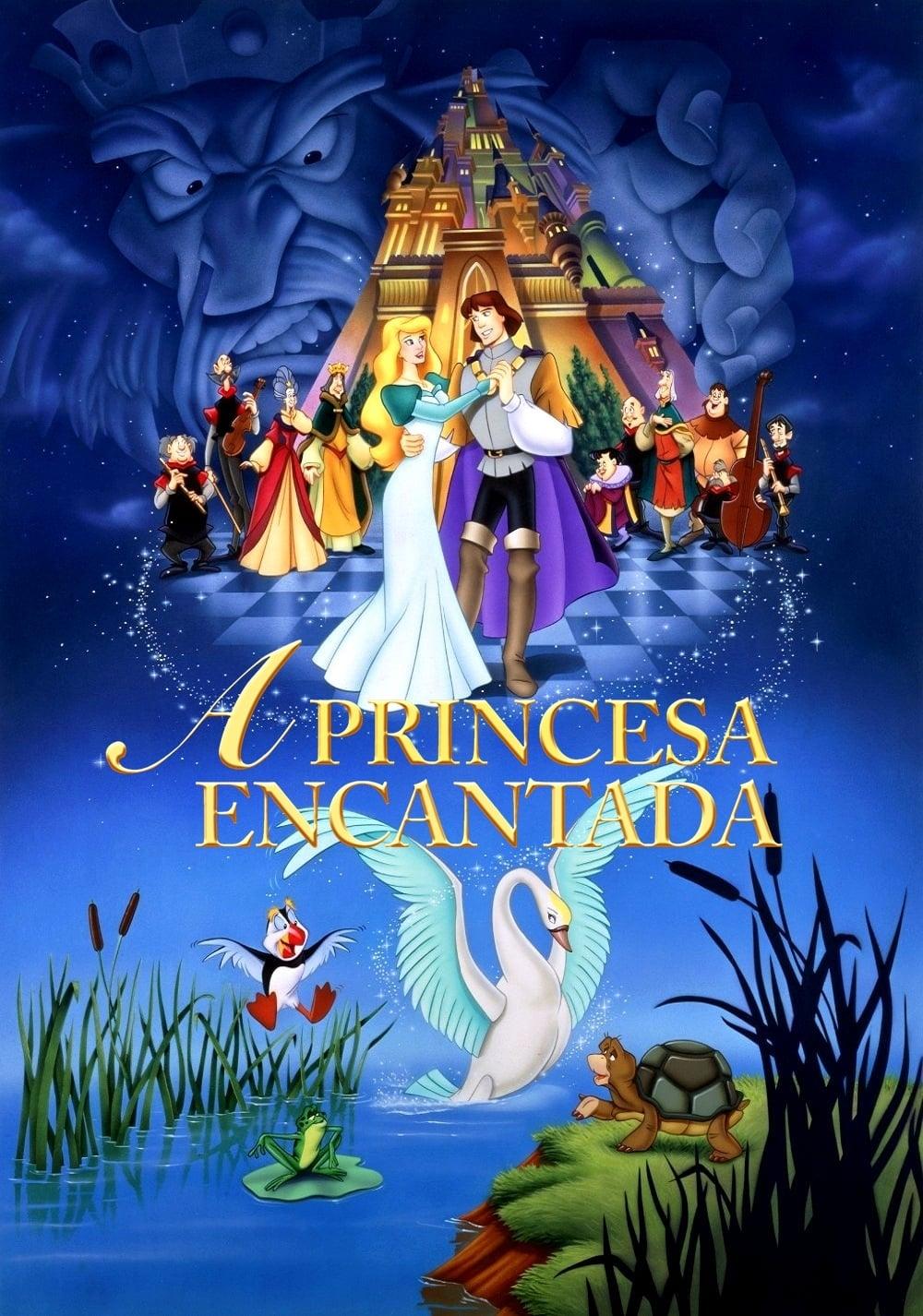 A Princesa Encantada Dublado