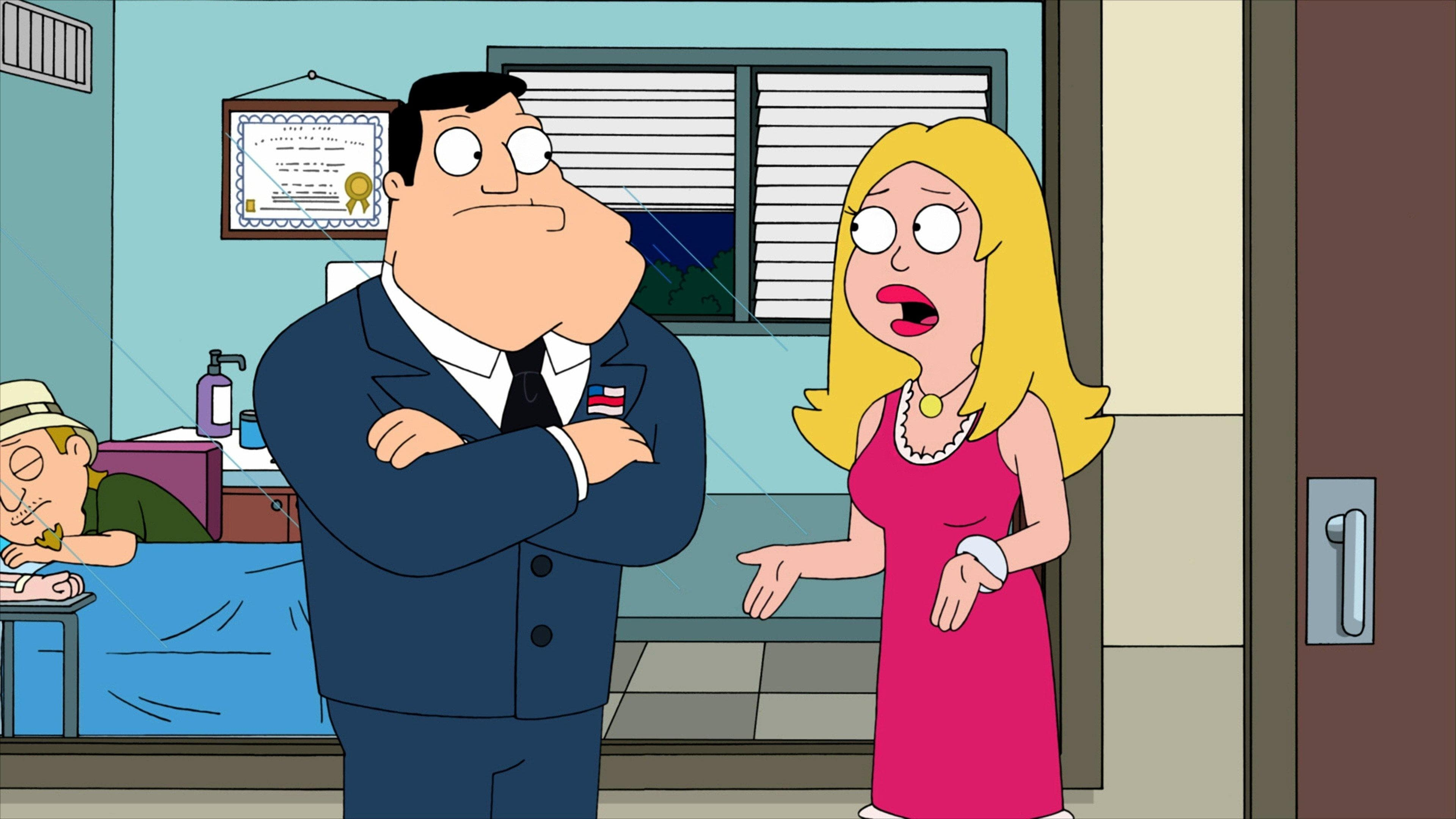American Dad! Season 8 :Episode 16  The Kidney Stays In the Picture