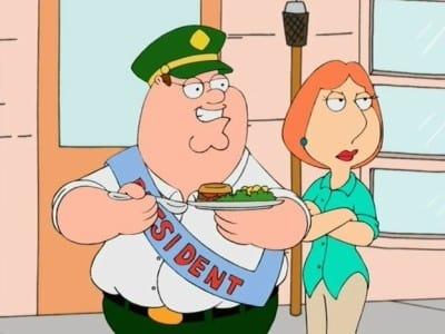 Family Guy Season 2 :Episode 18  E. Peterbus Unum