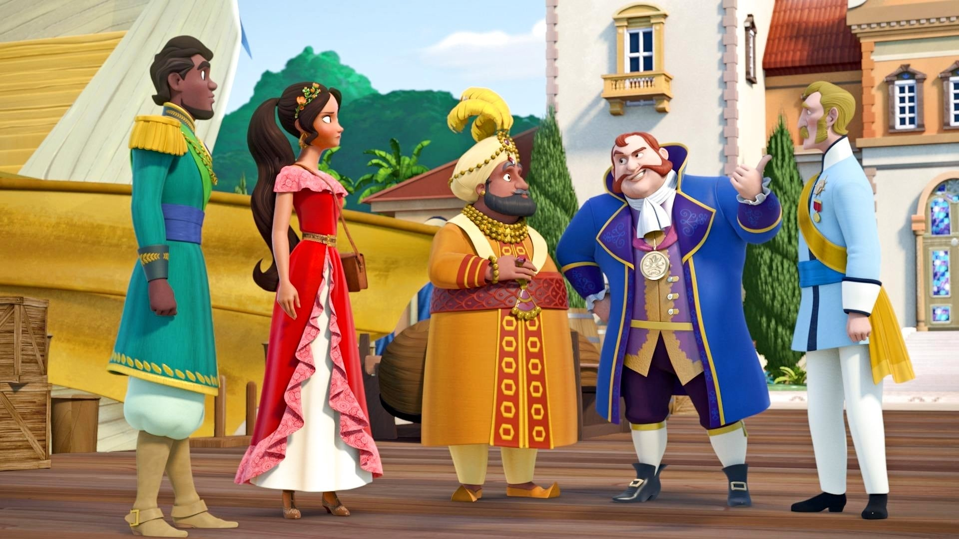 Elena of Avalor Season 1 :Episode 8  Royal Retreat