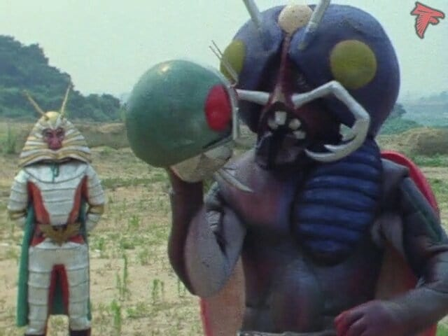 Kamen Rider Season 1 :Episode 69  Monster Gillercricket's Claws of Impending Death