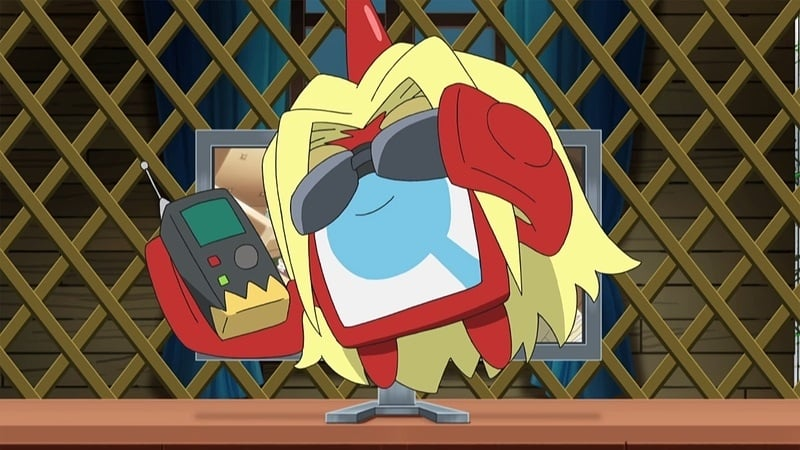 Pokémon Season 20 :Episode 17  Crystal-Clear Sleuthing!