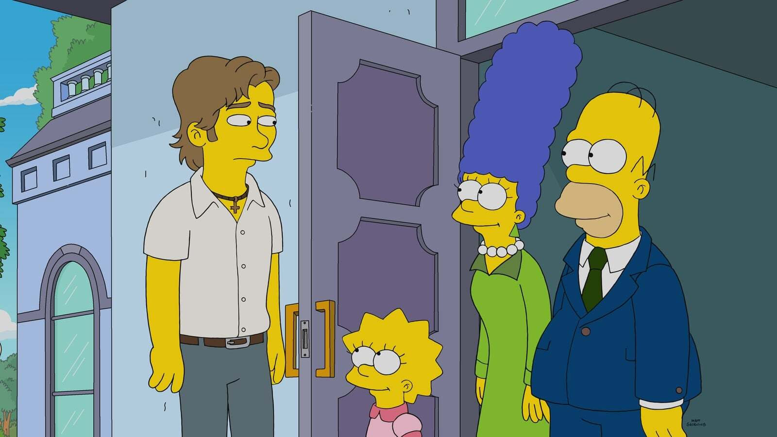 The Simpsons Season 31 :Episode 20  Warrin' Priests (Part Two)