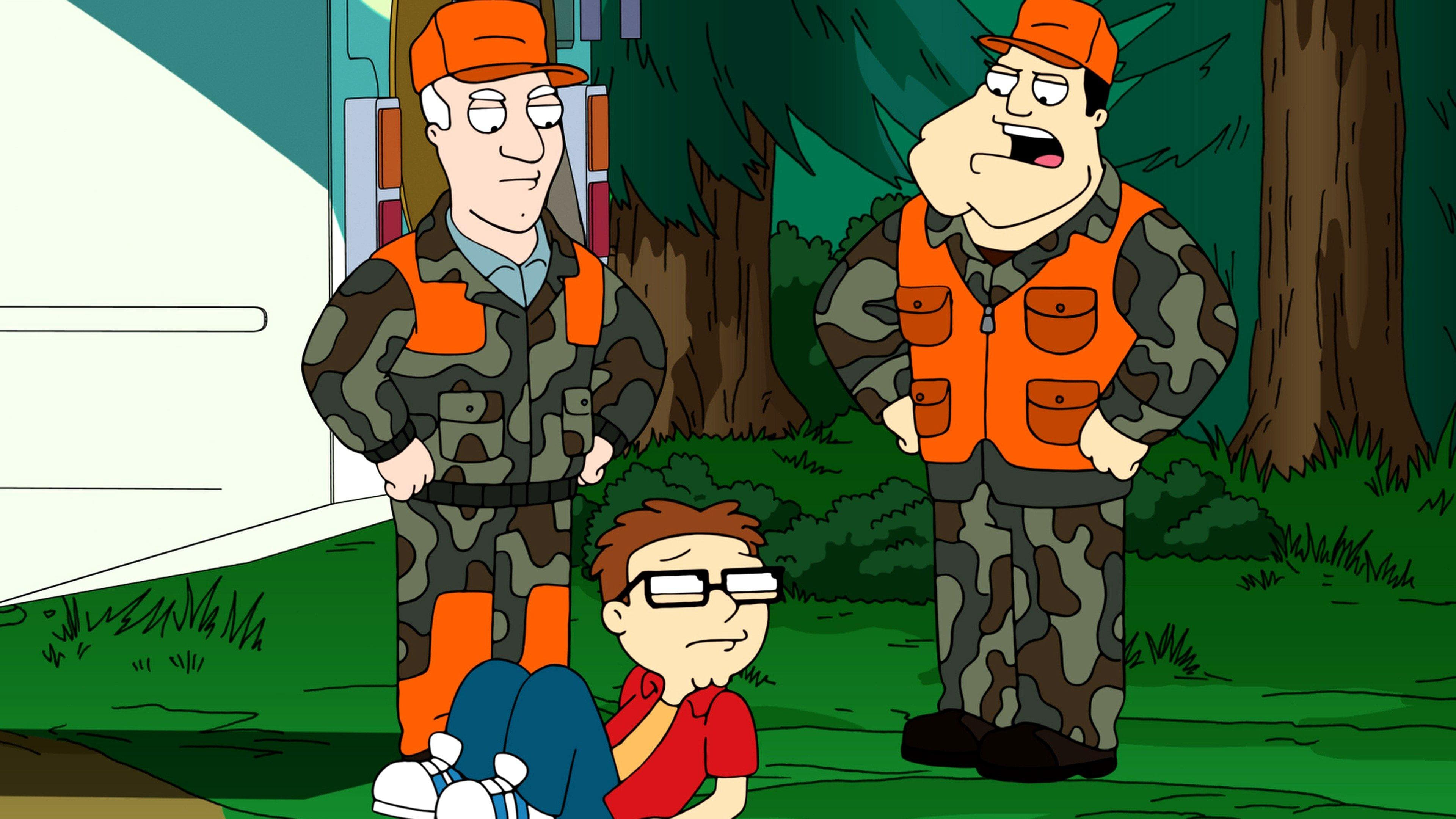American Dad! Season 10 :Episode 3  Buck, Wild