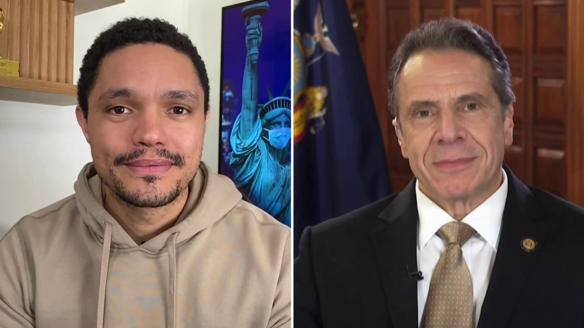 The Daily Show with Trevor Noah Season 25 :Episode 94  Andrew Cuomo