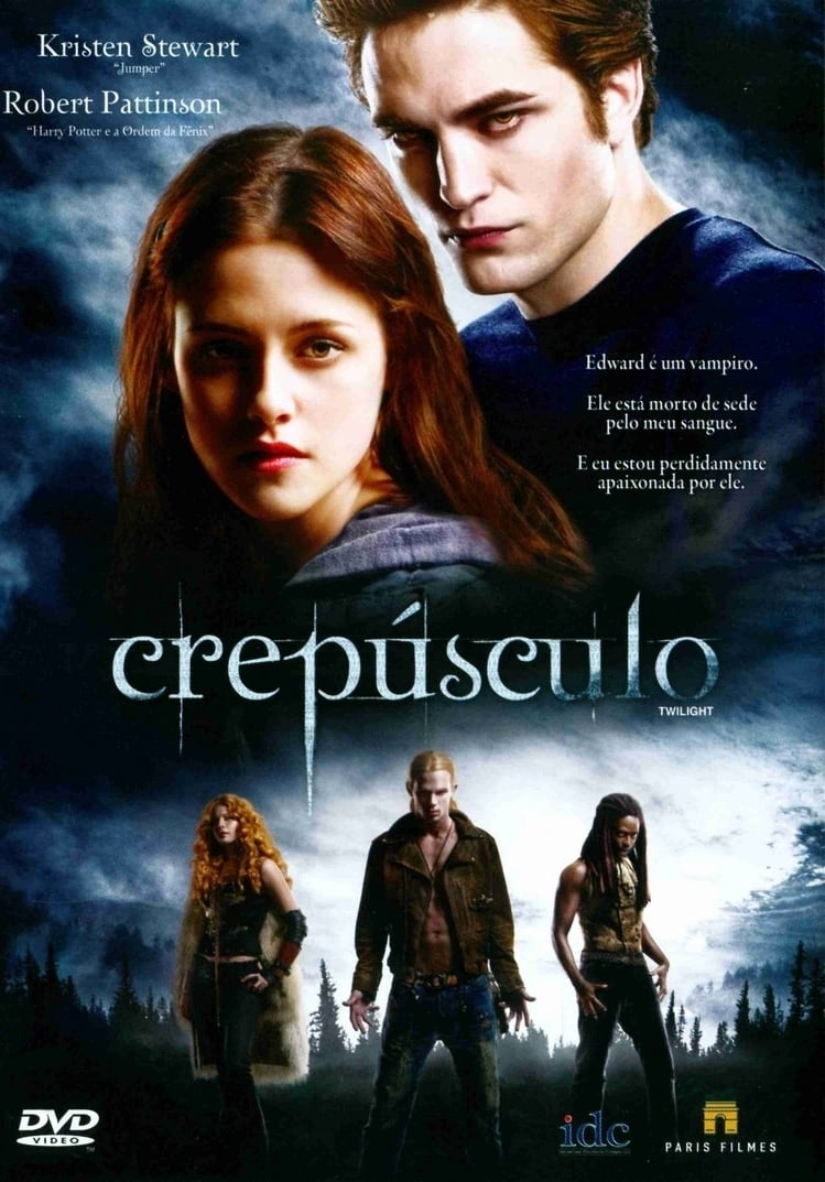 Pentalogia – Crepusculo (2008-2012) Blu-Ray 720p Download Torrent Dublado