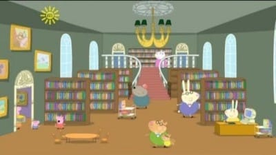 Peppa Pig Season 3 :Episode 4  The Library