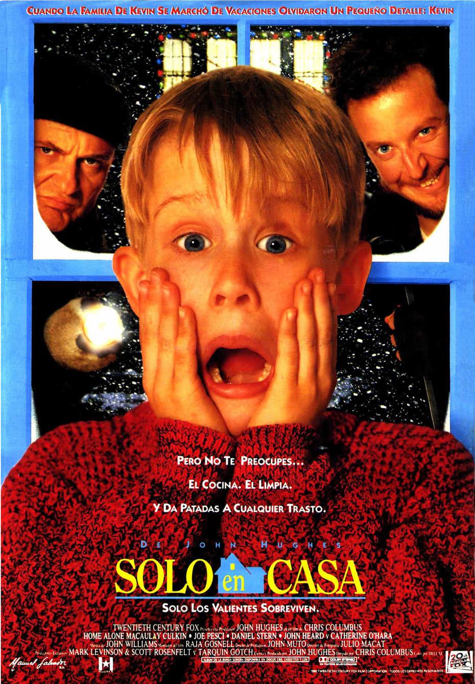 Ver Solo en casa Online HD Español (1990)