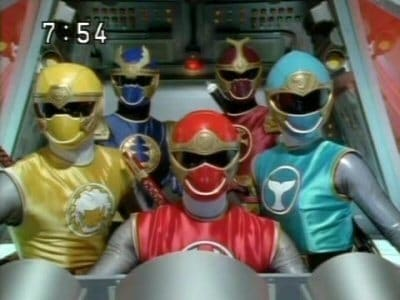 Super Sentai Season 26 :Episode 49  Scroll 49: Mission and the Heavenly Ninja