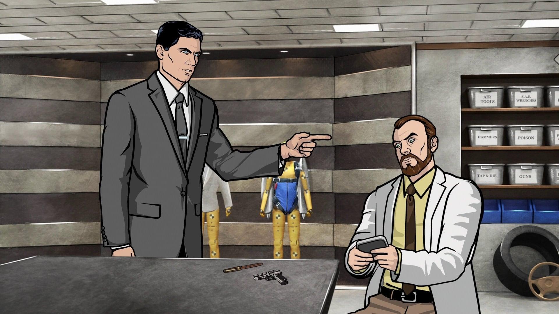 Archer Season 1 :Episode 2  Training Day