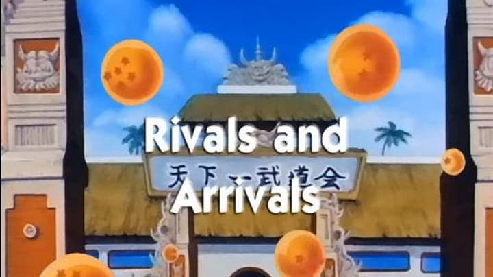 Dragon Ball Season 1 :Episode 84  Rivals and Arrivals
