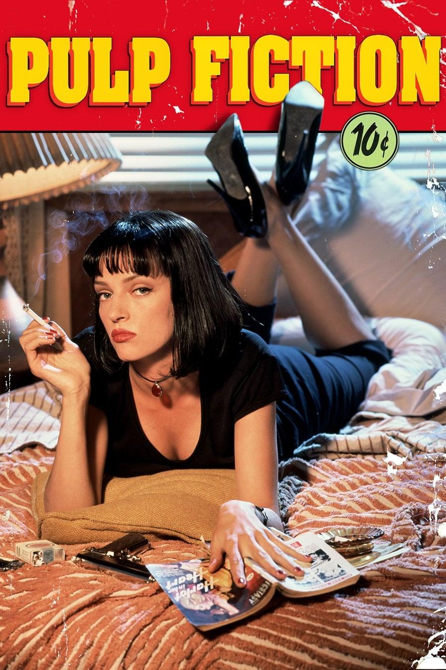 Möbel & Wohnen 20 Pulp Fiction Movie PRINT GLOSSY POSTER DE ...