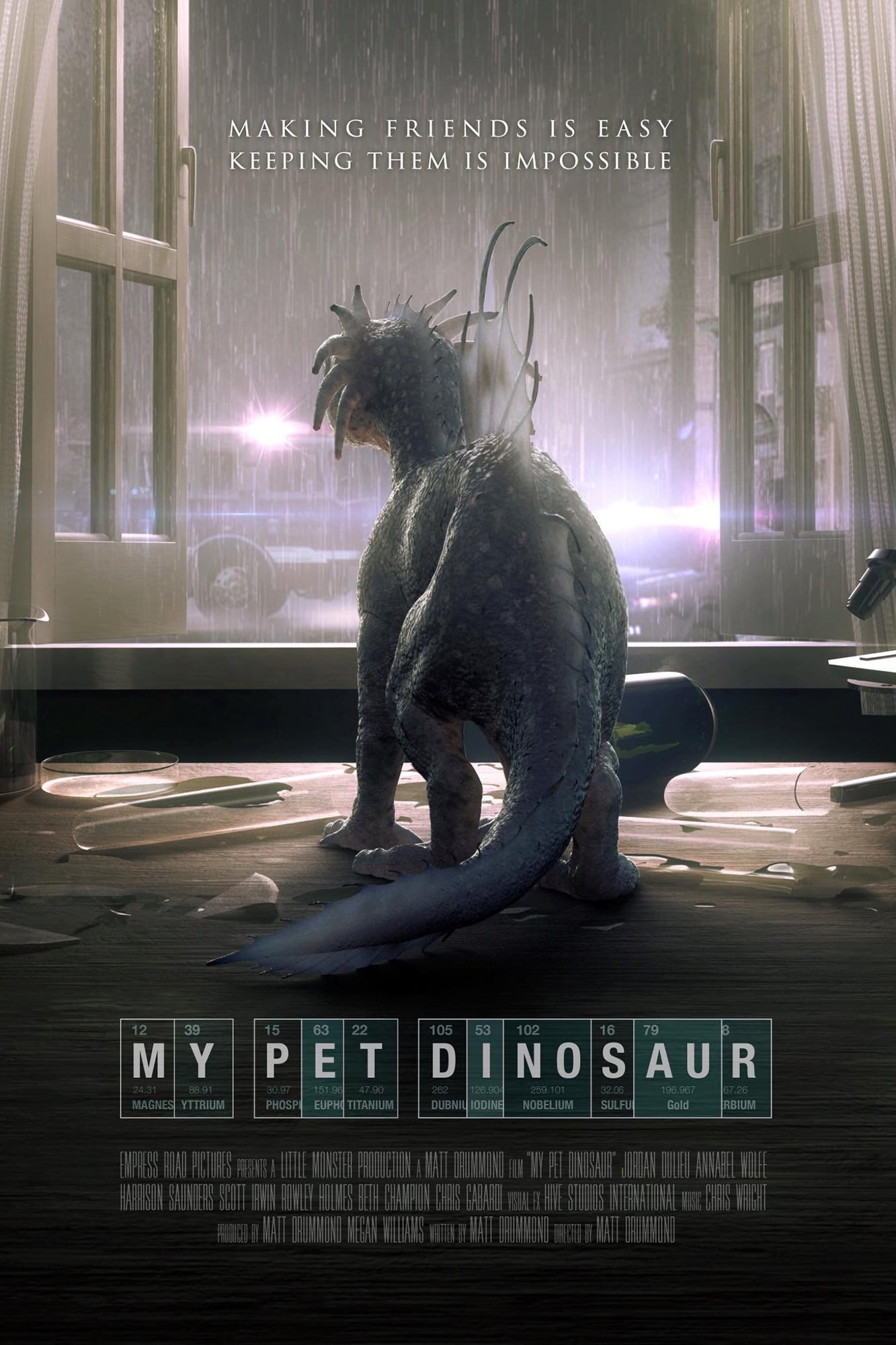 My Pet Dinosaur 2017 Posters The Movie Database Tmdb
