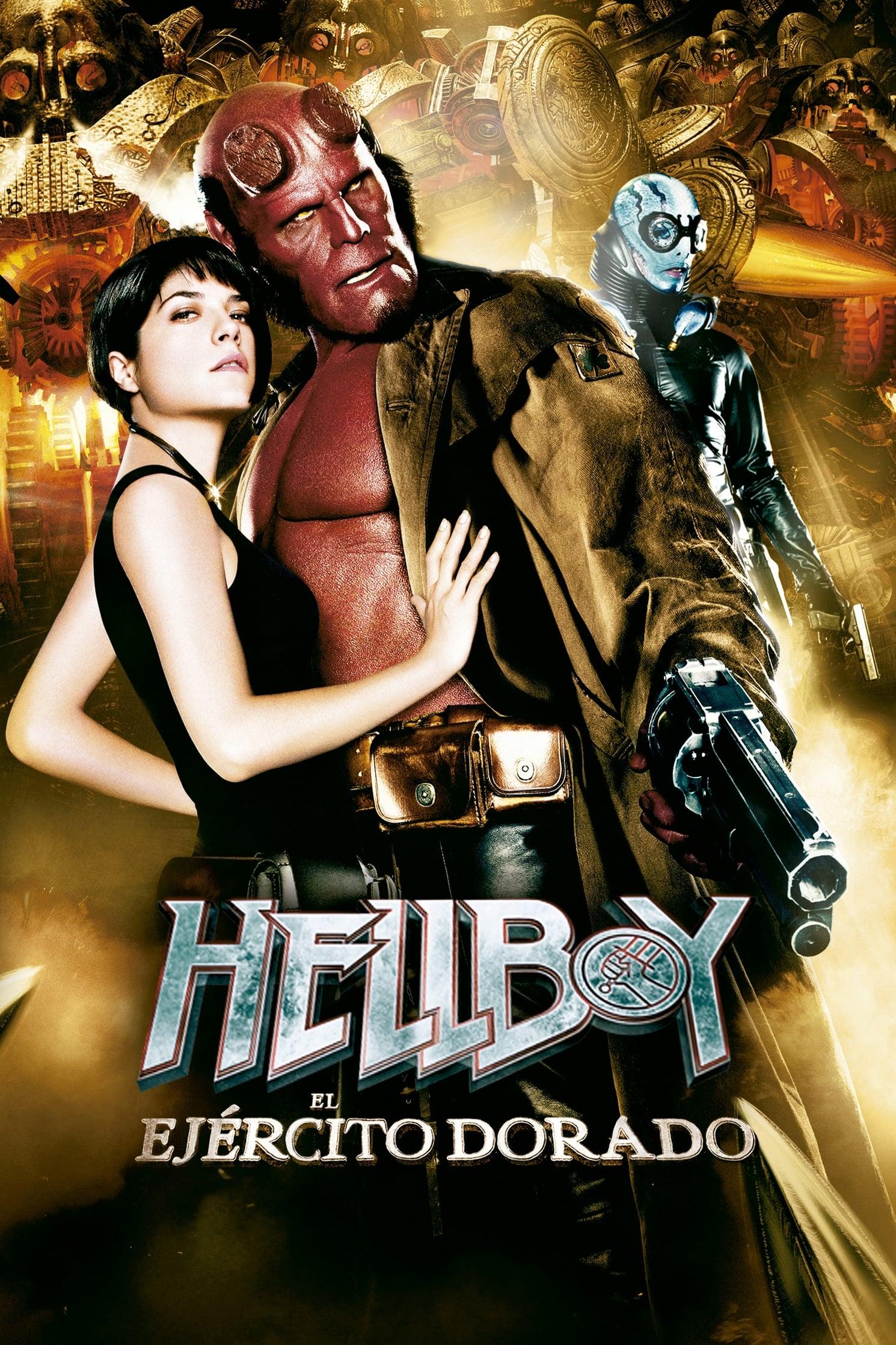 Póster Hellboy II: El ej�rcito dorado