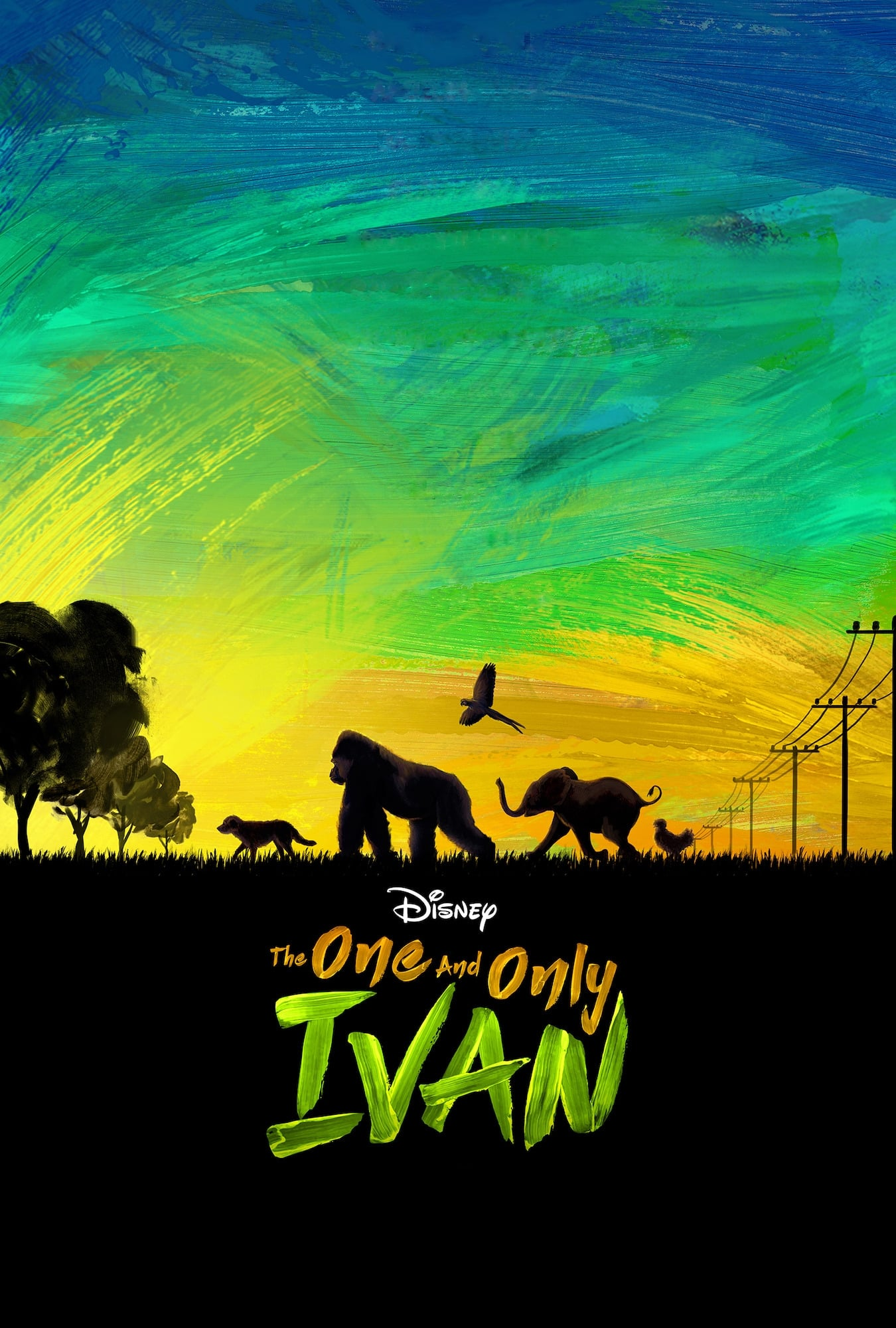 The One and Only Ivan (2020) | 1080p WEB-DL X264 DDP5.1 [3.85 GB] | 720p WEB-DL  [2.94 GB] | WEBRip x264 [900 MB] | G-Drive