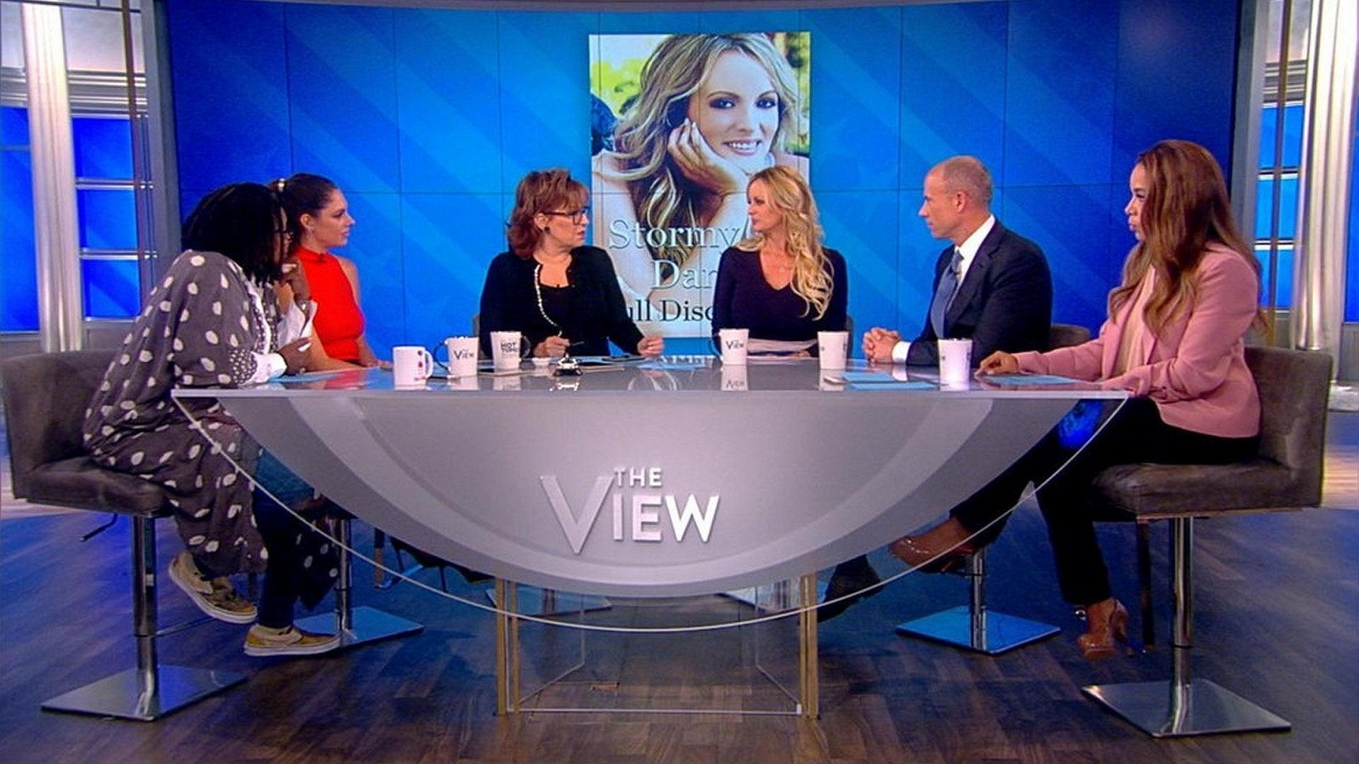 The View Season 22 :Episode 7  Stormy Daniels & Michael Avenatti