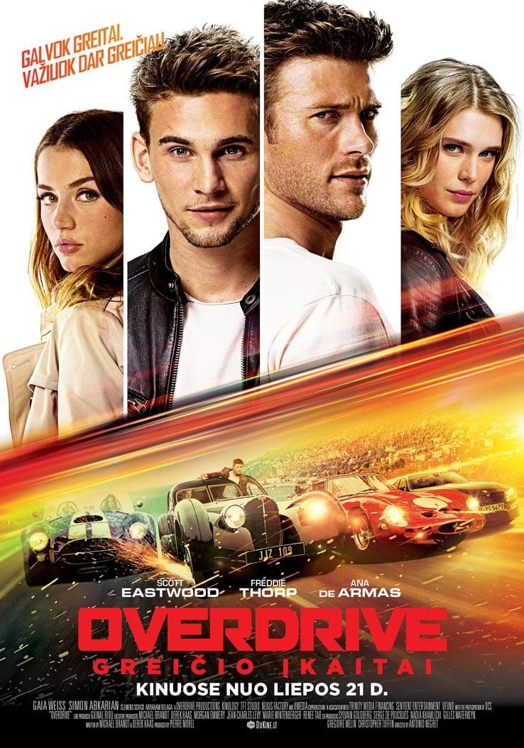 Overdrive. Greičio įkaitai / Overdrive (2017) žiūrėti online