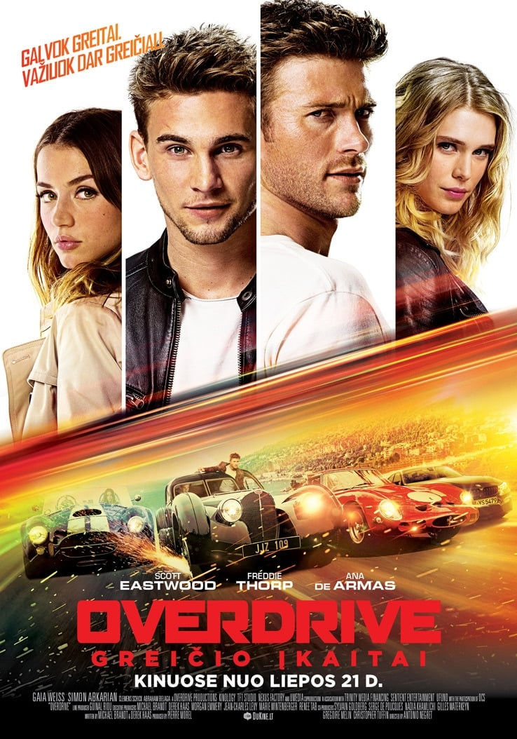 Overdrive. Greičio įkaitai / Overdrive (2017) online