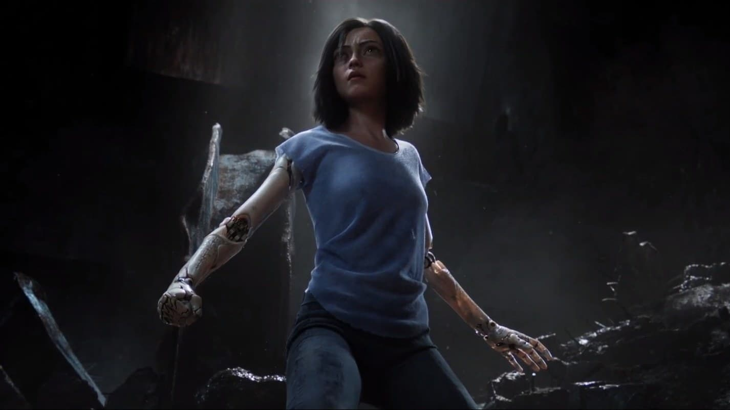 Backgrounds and walpapers Alita: Battle Angel