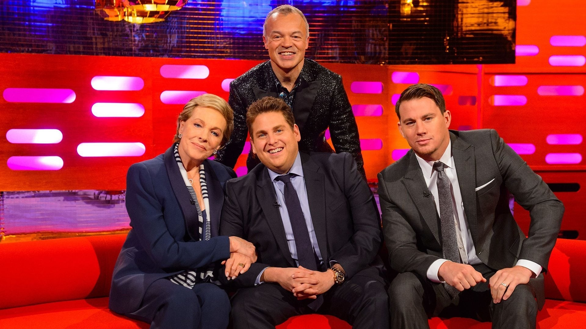 The Graham Norton Show Season 15 :Episode 8  Dame Julie Andrews, Channing Tatum, Jonah Hill, Pharrell Williams