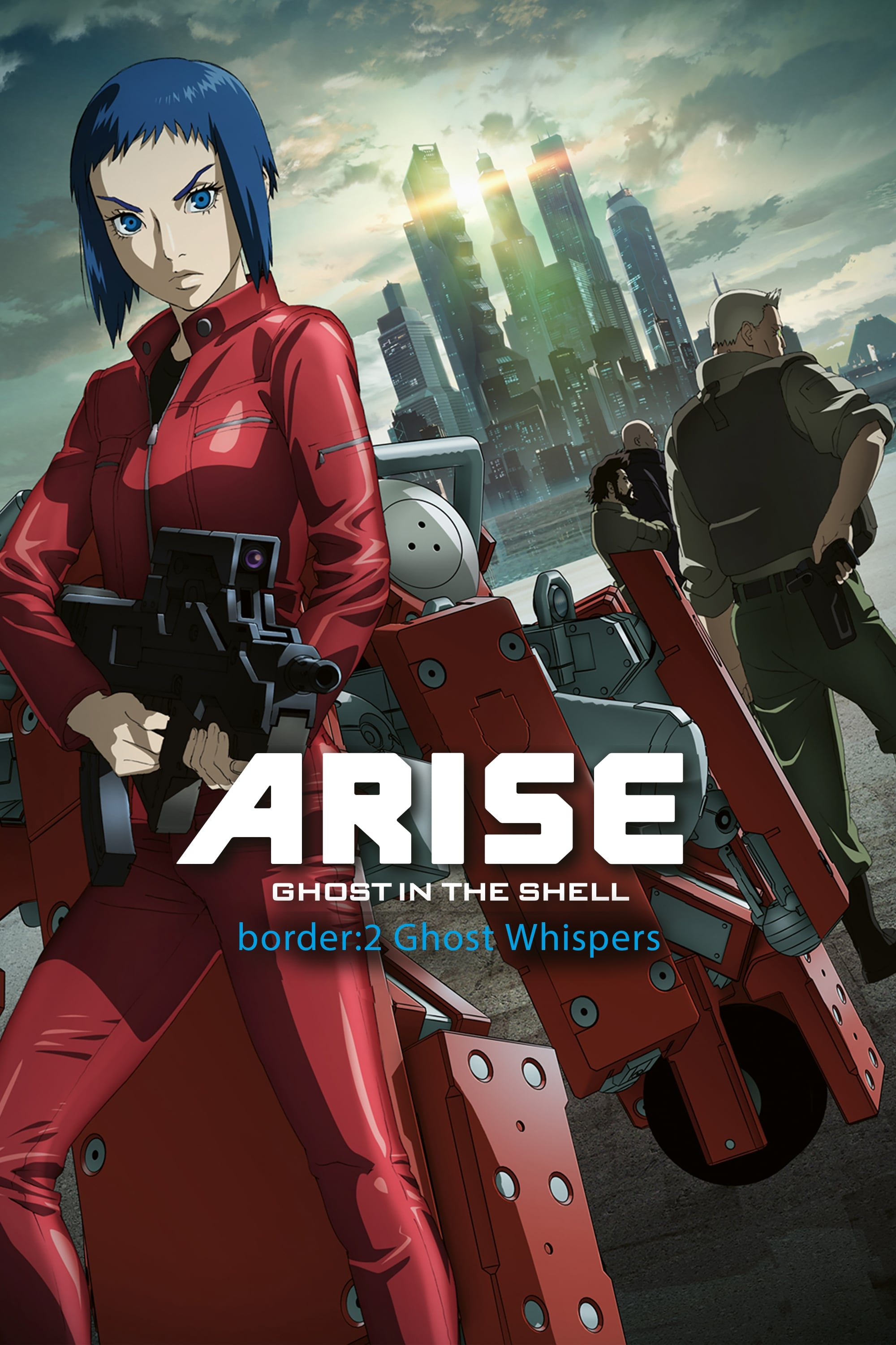 watch Ghost in the Shell Arise – Border 2: Ghost Whispers 2013 online free