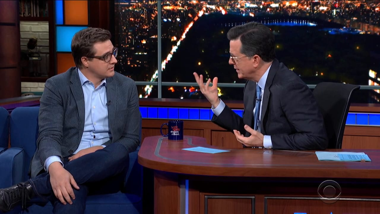 The Late Show with Stephen Colbert Season 5 :Episode 98  Chris Hayes / David Chang