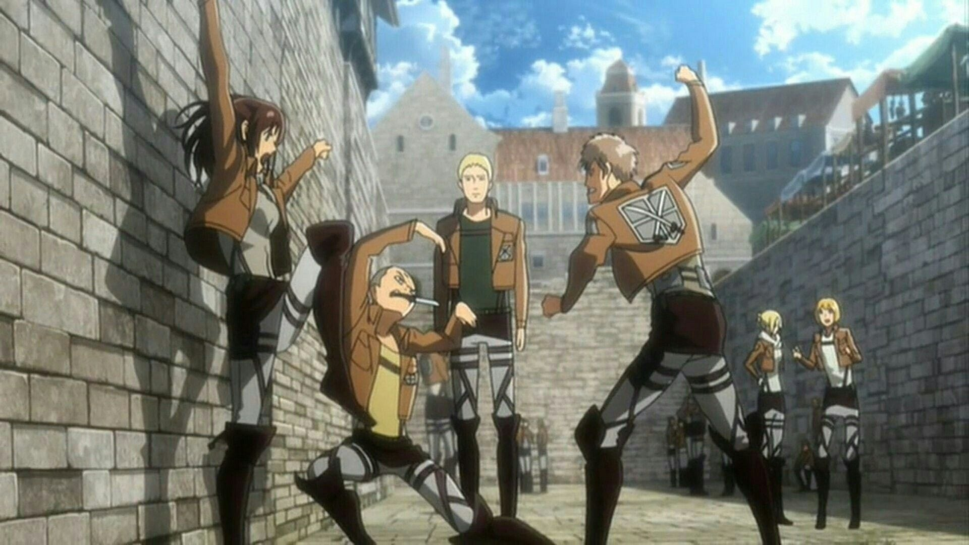 Attack on Titan - Season 0 Episode 12 : The Sudden Visitor: The Torturous Curse of Youth