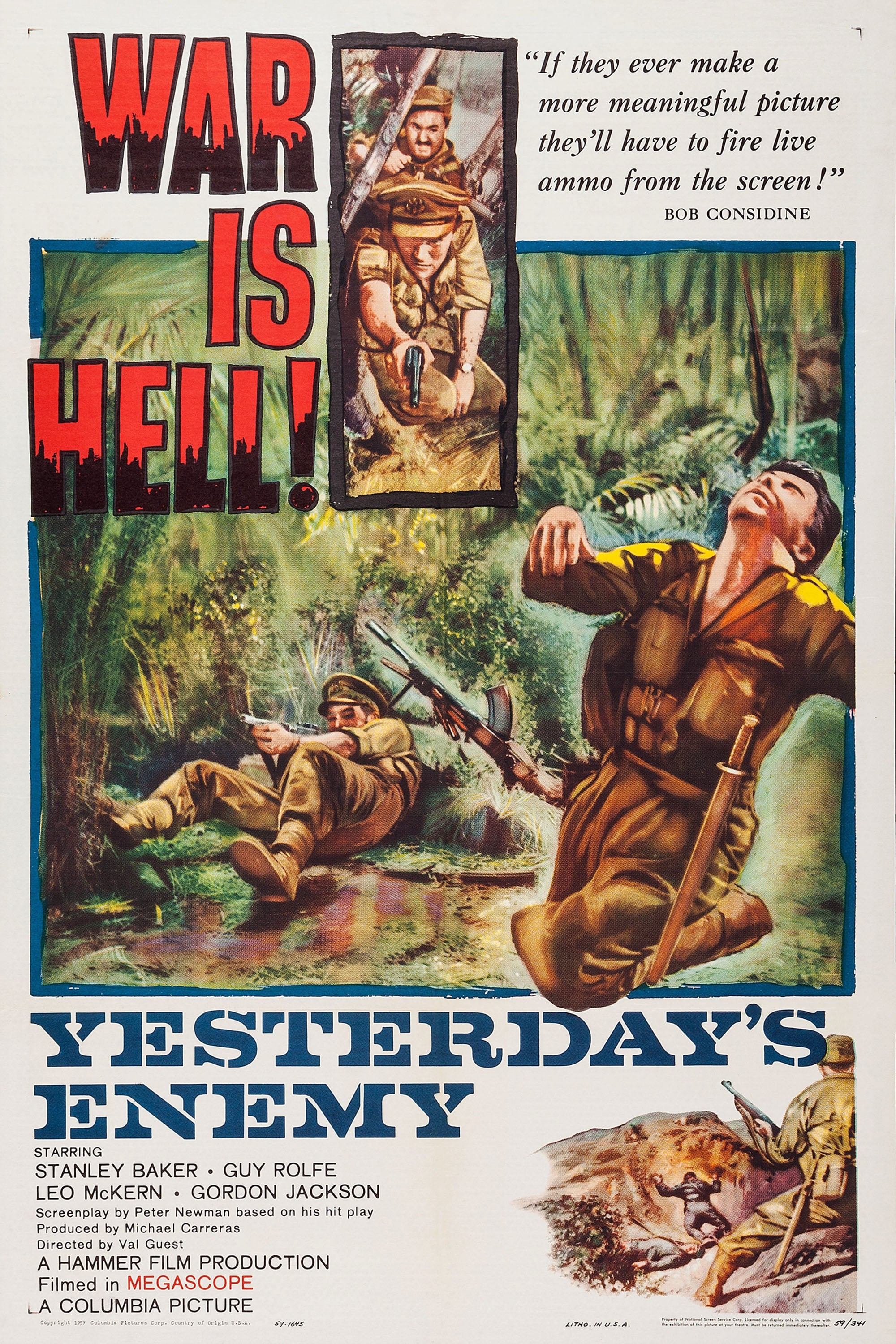 Yesterday's Enemy (1959)