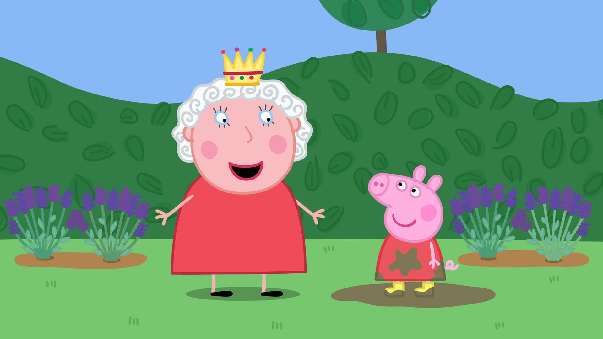 Peppa Pig Season 4 :Episode 27  The Queen