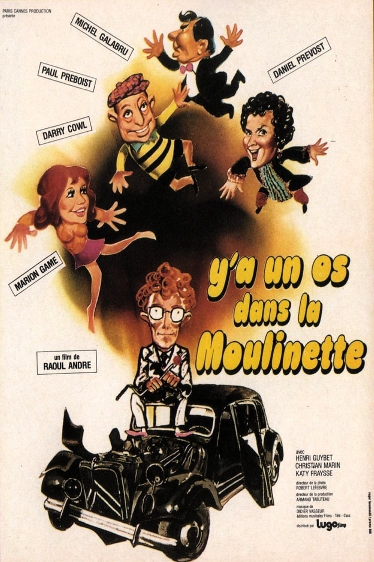 Ver Y'a un os dans la moulinette Online HD Español (1974)