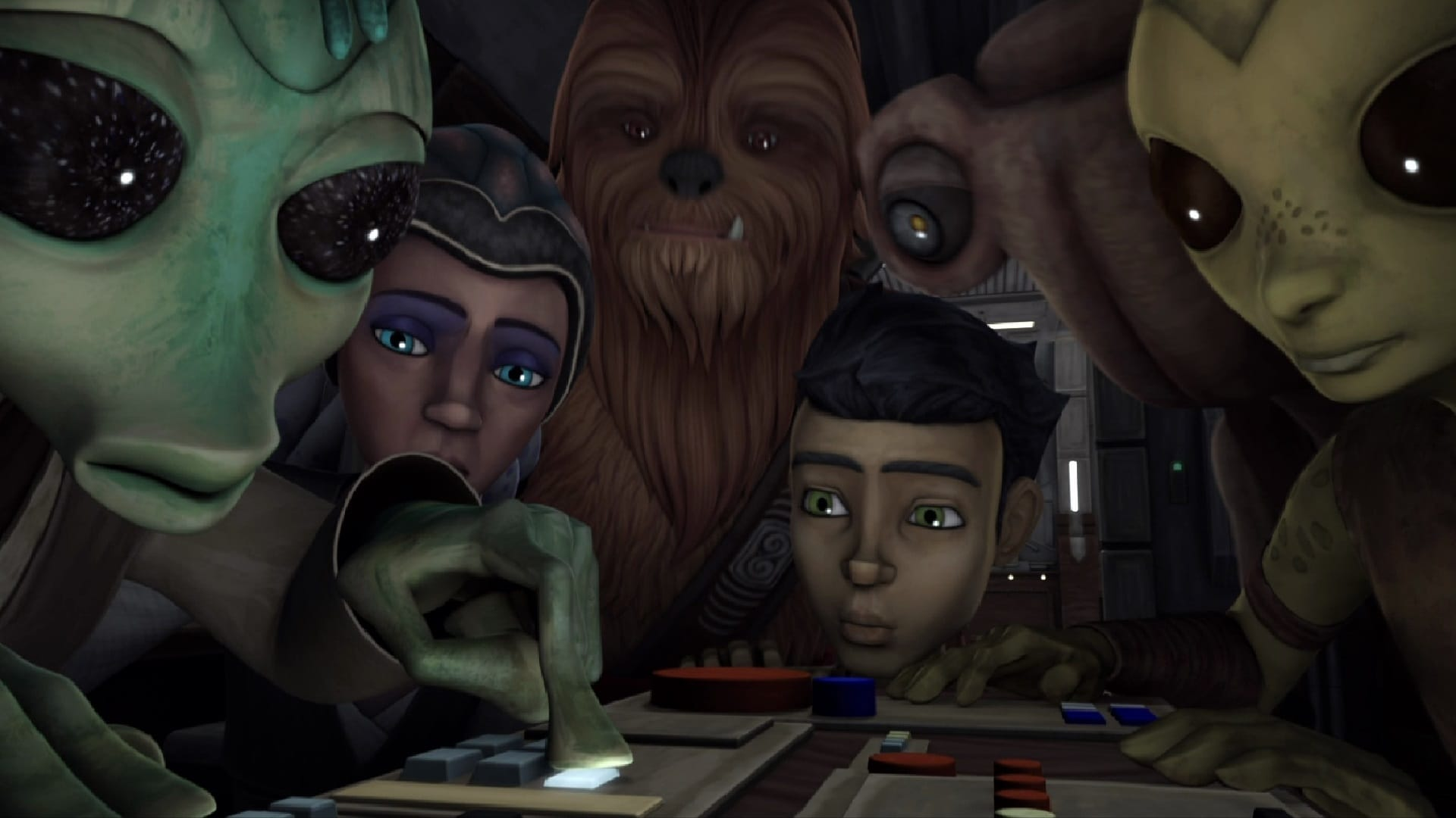 Star Wars: The Clone Wars Season 5 :Episode 7  A Test of Strength