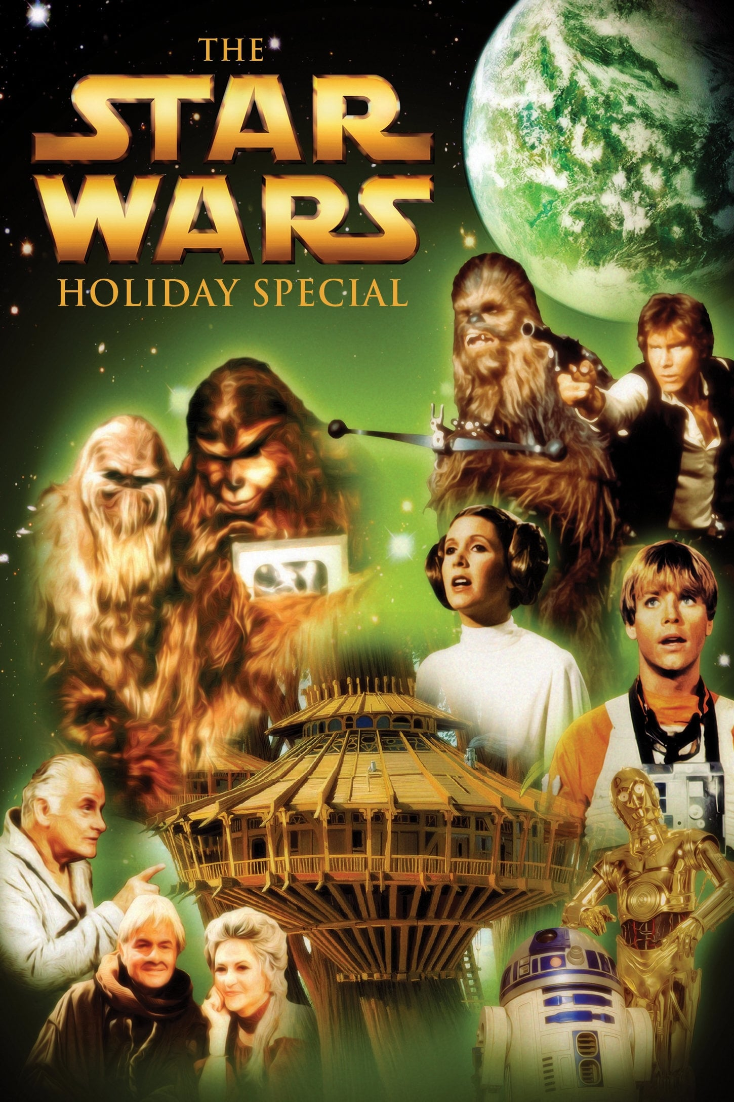 The Star Wars Holiday Special poster on TMDB - I chose this particular one because it features Bea Arthur as well as the treehouse
