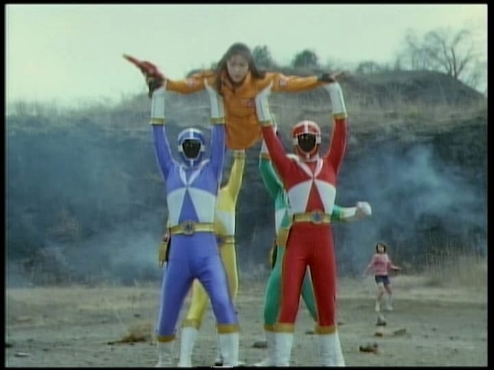 Super Sentai Season 23 :Episode 9  Stolen Powers
