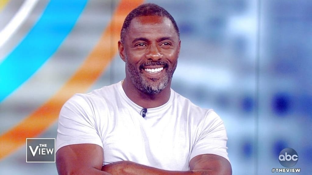 The View Season 22 :Episode 205  Idris Elba