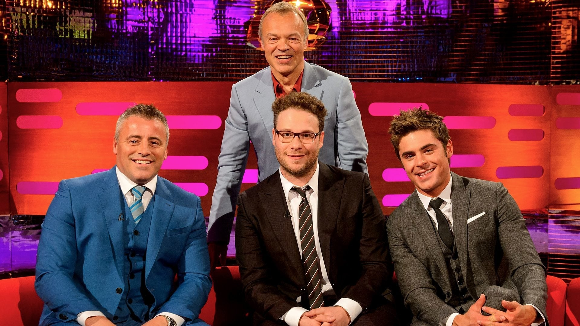 The Graham Norton Show Season 15 :Episode 4  Zac Efron, Seth Rogen, Matt LeBlanc, Kaiser Chiefs