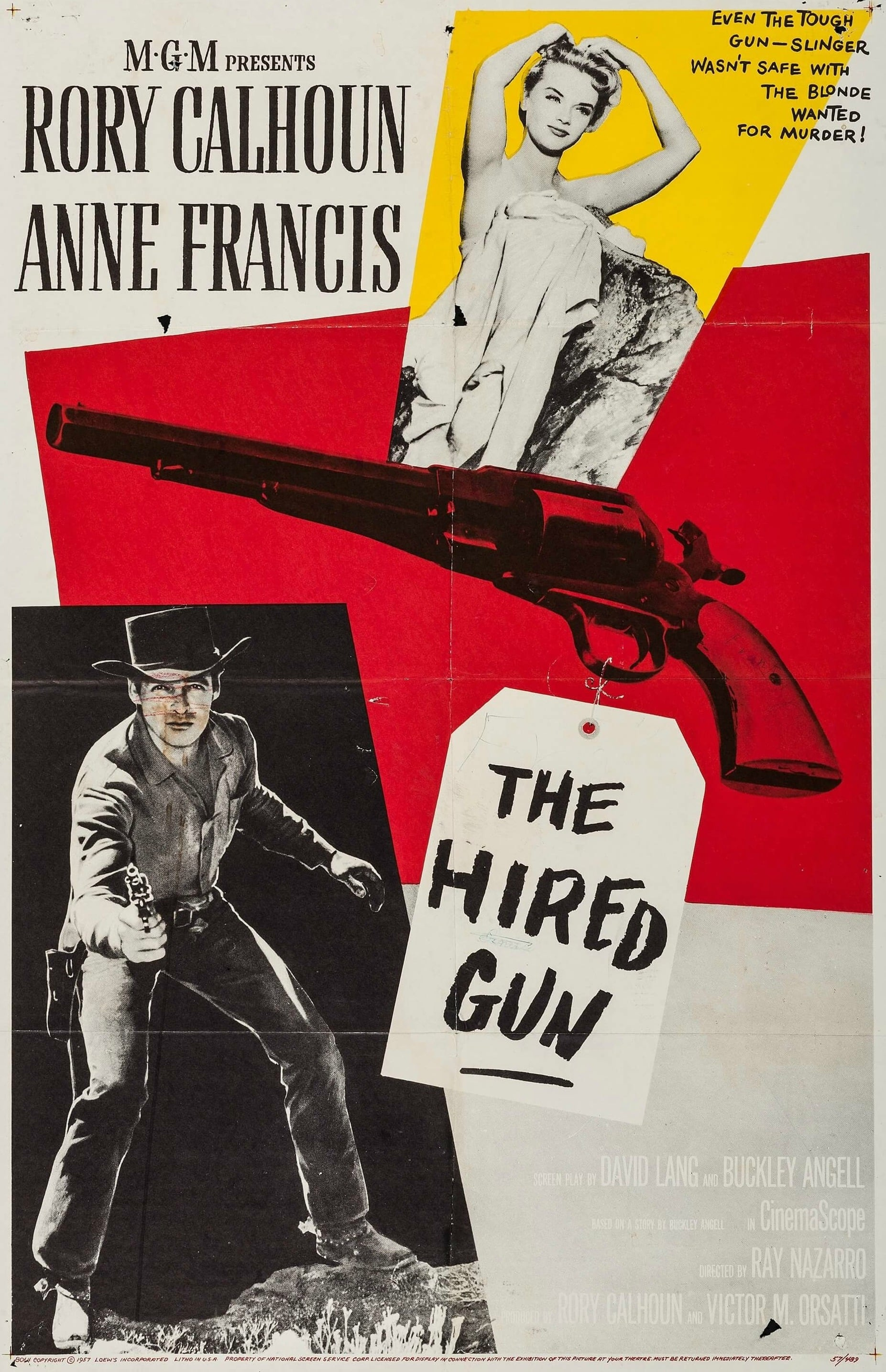 the hired gun 1957 posters � the movie database tmdb