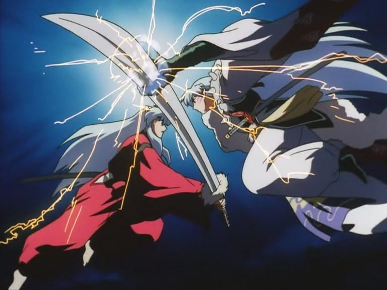 Inuyasha Tetsusaiga And Tenseiga 2001 Backdrops Stills The