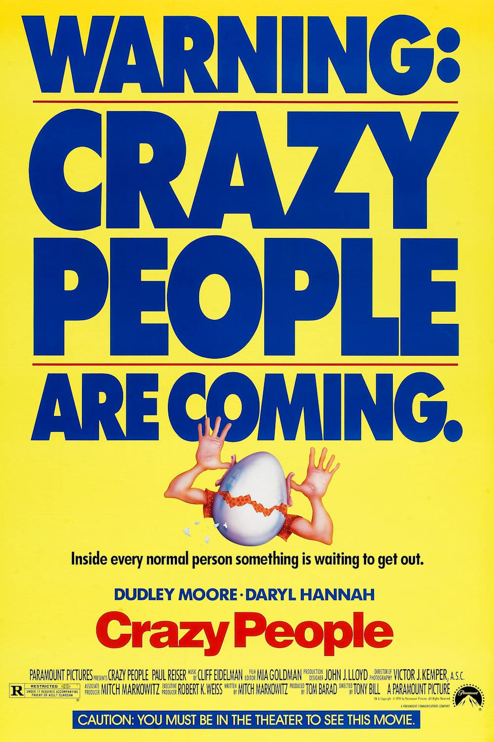 Crazy People (1990) - Posters — The Movie Database (TMDb)