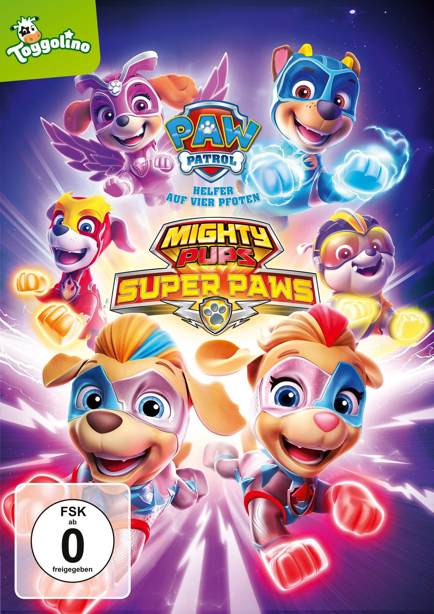 Paw Patrol - Mighty Pups Super Paws (2018)