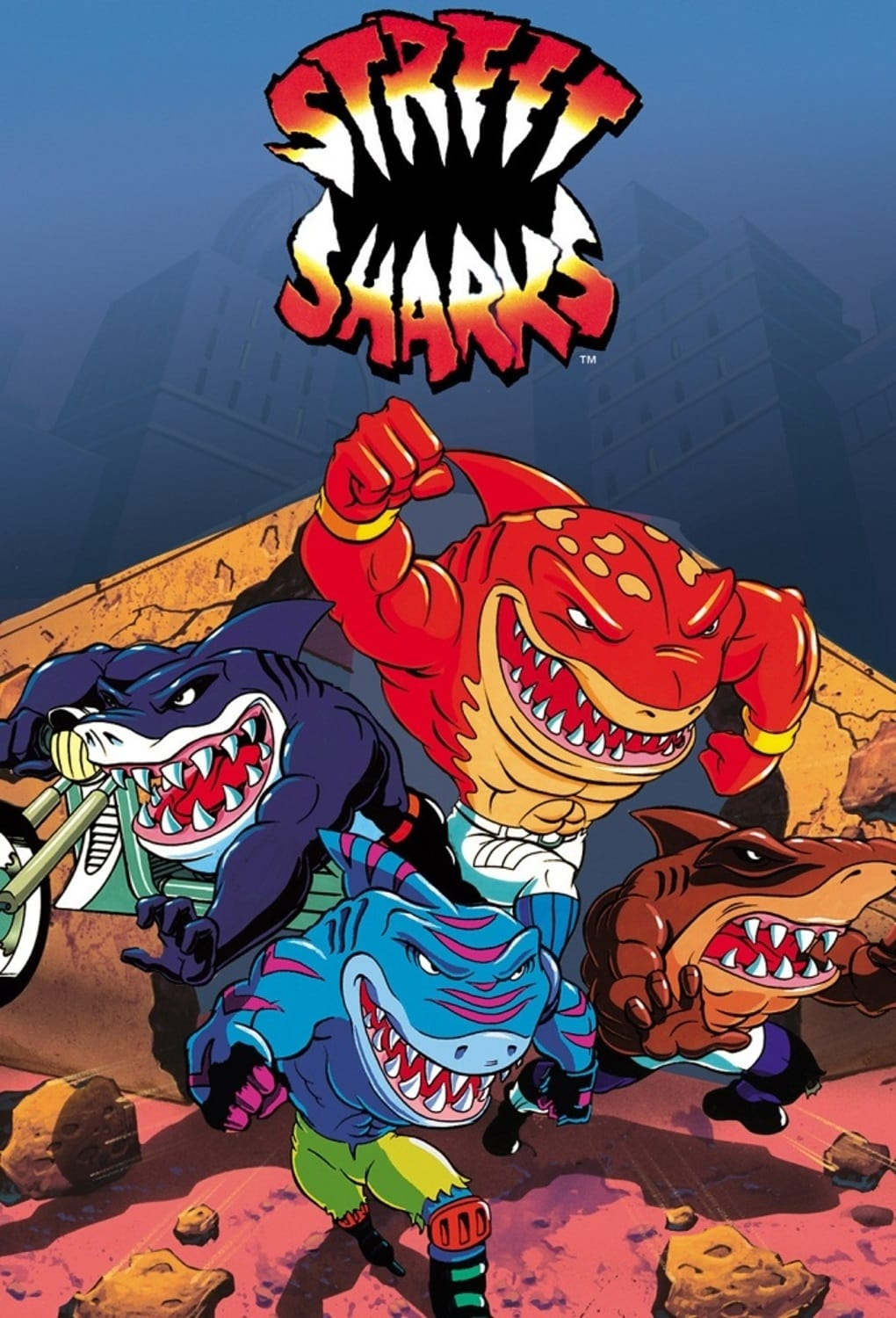 Street Sharks TV Shows About Fighting Crime