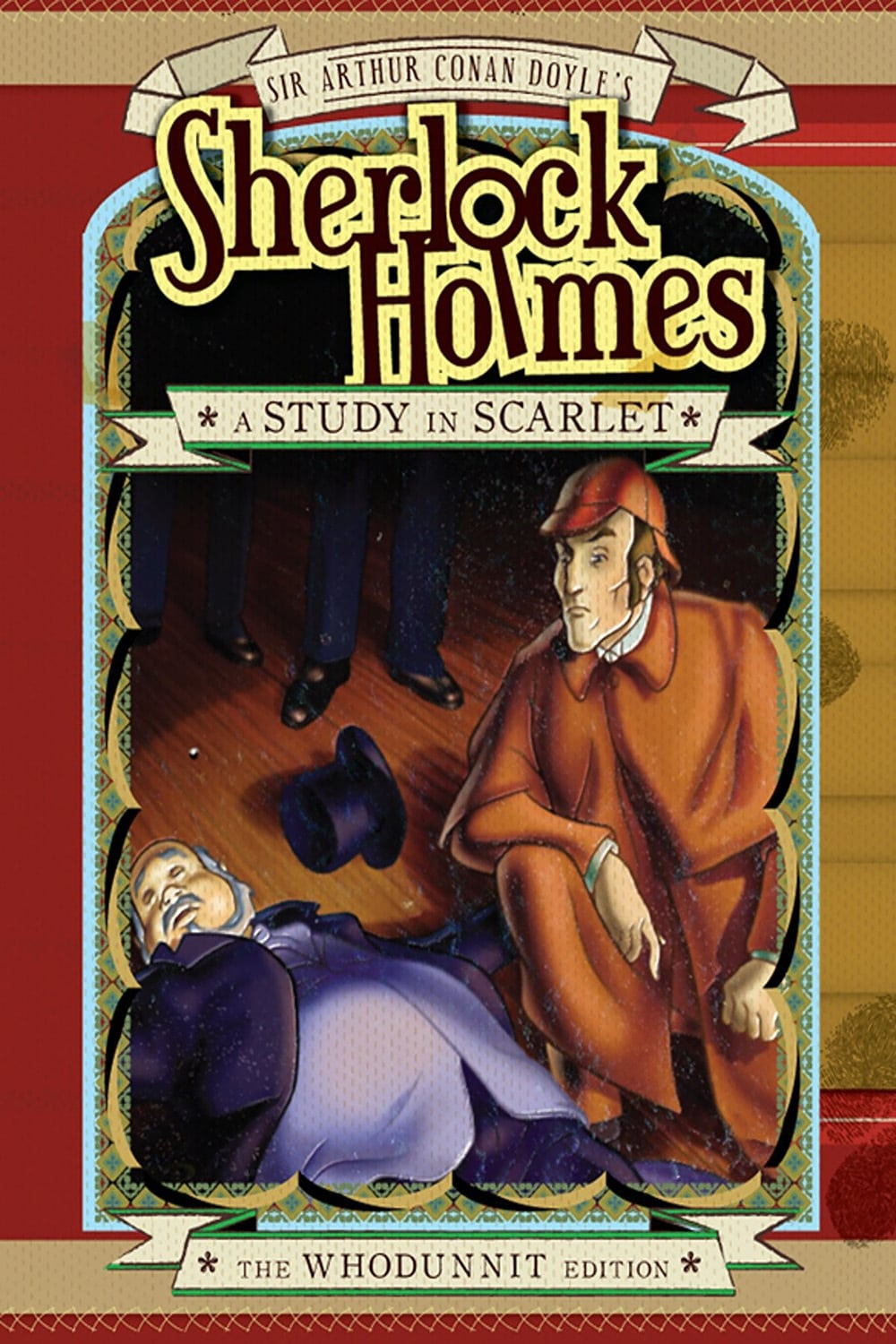 Sherlock Holmes and a Study in Scarlet on FREECABLE TV