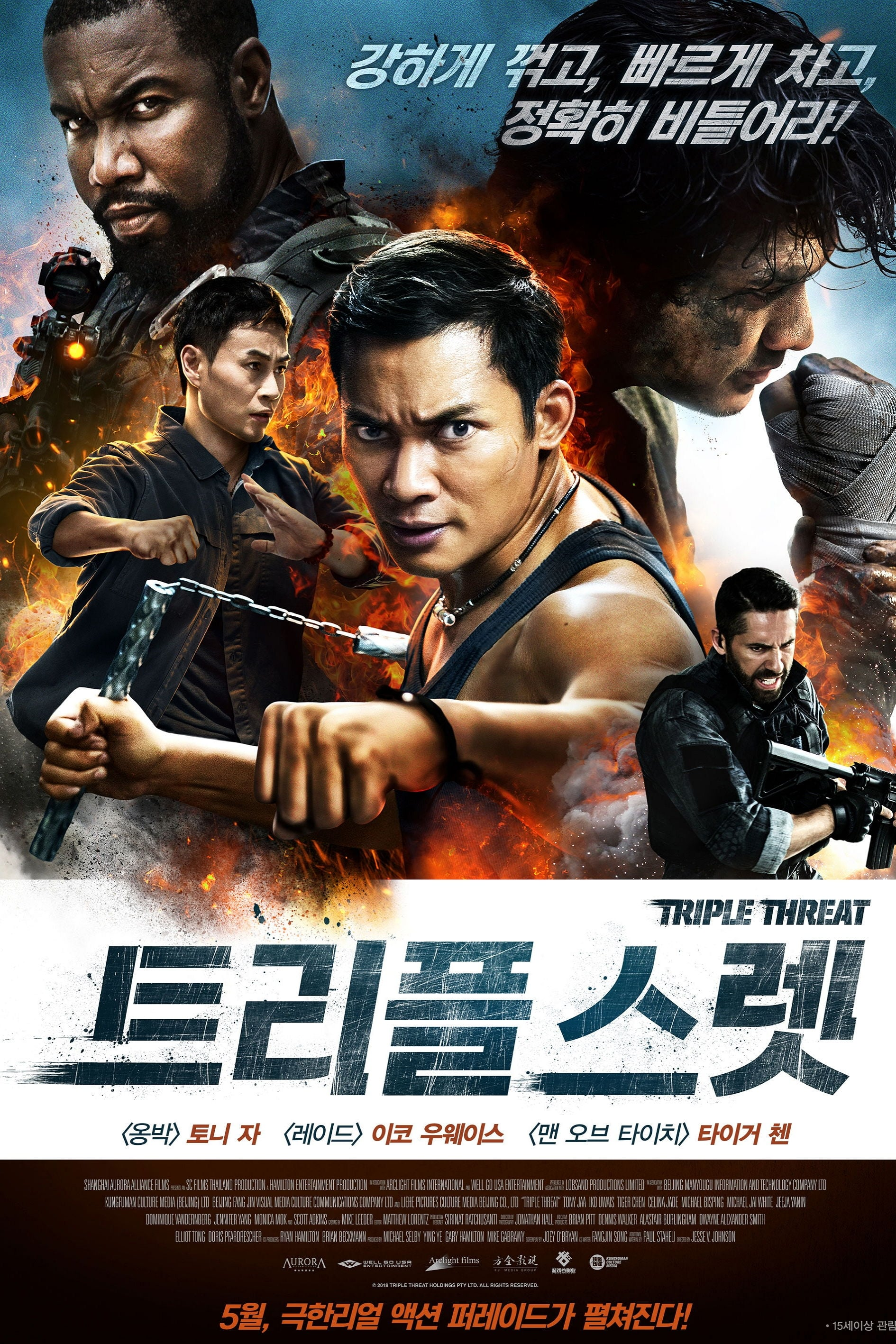 triple threat  2019  streaming vf film complet en fran u00e7ais